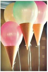 balloon ice cream